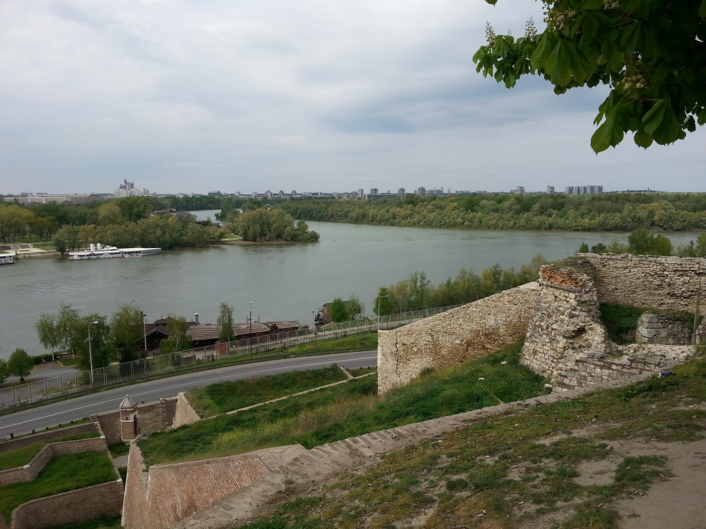 Belgrad: Festung, Donau und Save