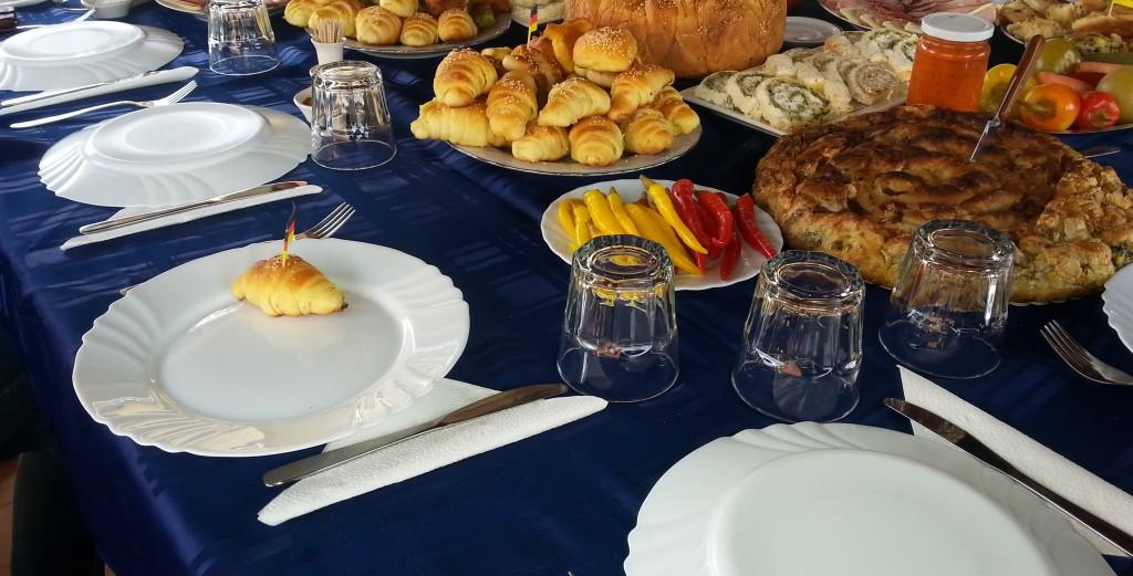 Serbische Gastfreundschaft in Vlasotince