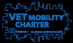 Logo zur Erasmus+ Mobilitätscharta