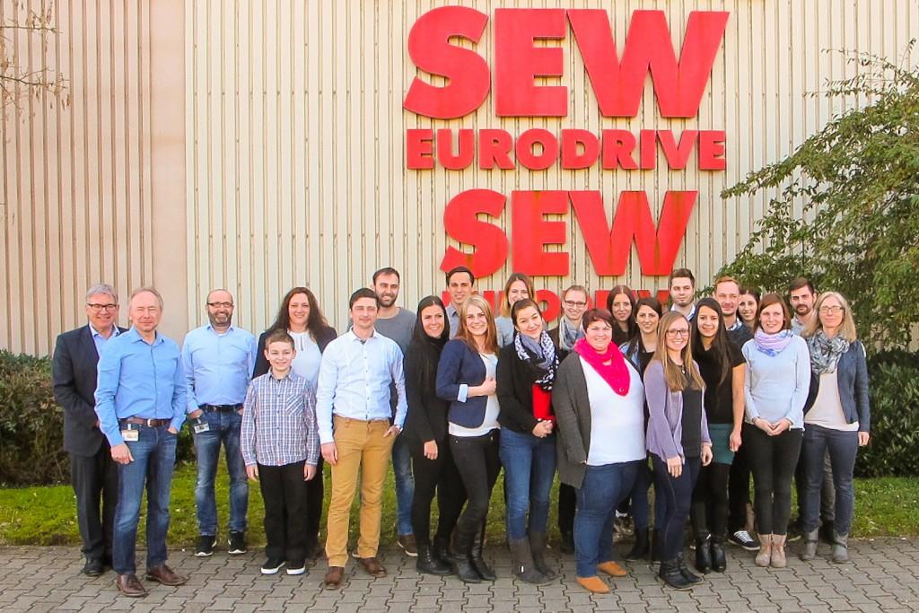 170318 Besichtigung SEW Eurodrive Gruppe