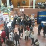 Ausbildungsberufe im Einzelhandel und im Groß- und Außenhandel präsentierten sich in der Aula