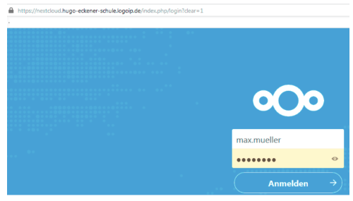 nextcloud-login