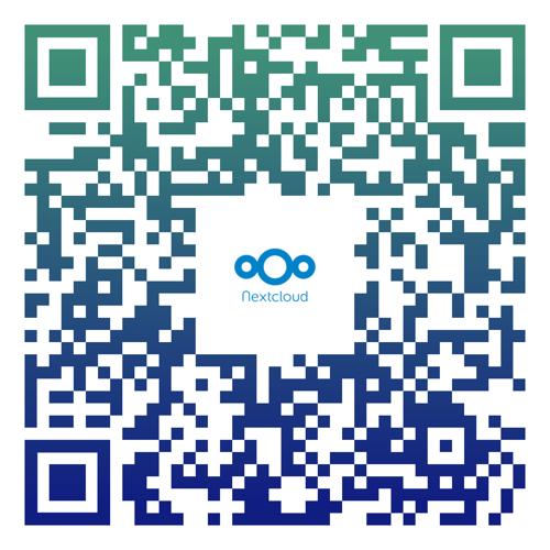 nextlcoud-qr-code