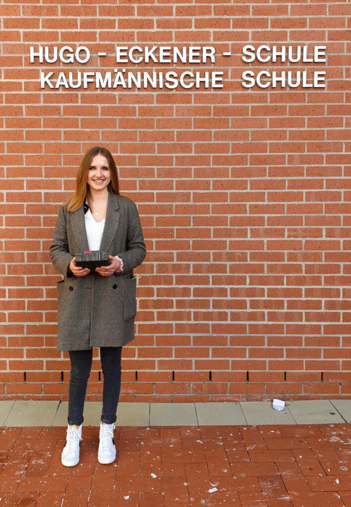 Hannah Albrecht Preisträgerin des Hugo-Eckener-Preises